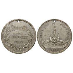 Sioux City Souvenir IA - Sioux City,Plymouth County - 1889 -