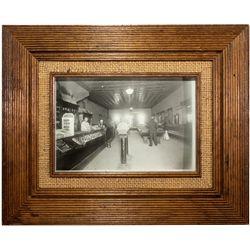 Ashton Idahoe  Pool Hall Photograph ID - Ashton,1920 - saloon