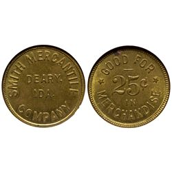 Smith Mercantile Co. Token ID - Deary,Latah County - c1910 - Tokens