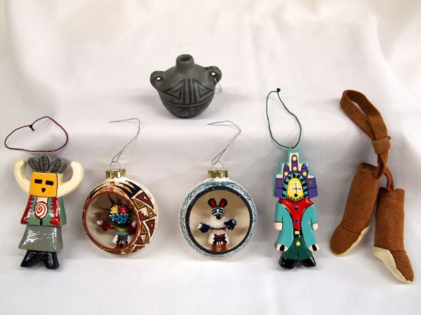 Native American Christmas Ornaments.Collection Of Native American Christmas Ornaments