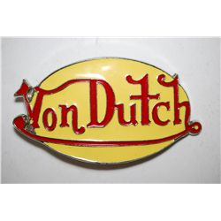 Von Dutch Belt Buckle; EST. $5-10