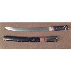 JAPANESE WAKIZASHI SAMURAI SWORD-250 YEAR OLD-RARE ORIG