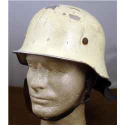 Fire Fighter Helmet Fireman Vintage Glow in the Dark
