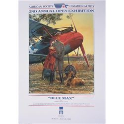 Blue Max Albatross DV Scout Aviation Art James Dietz
