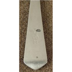 ORIGINAL NAZI KRIEGSMARINE/NAVY DINING HALL TEASPOON
