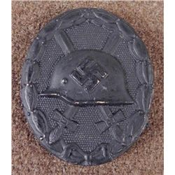 NAZI BLACK WOUND BADGE-CLEAN ORIGINAL HARD TO COME BY