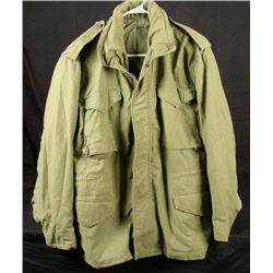 Post Vietnam Fatigue Jacket M-65 Mans Field Coat