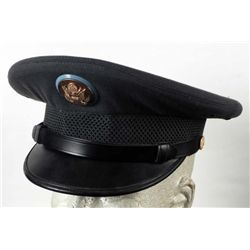 Vietnam Era Army Officer Hat Gray