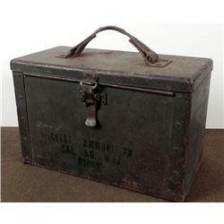 METAL M17-50 CALIBER CHEST AMMUNITION BOX