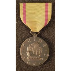 WWII US MARINE CORPS CHINA SERVICE MEDAL & RIBBON-ORIG