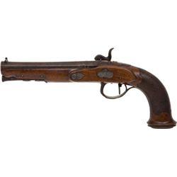 ET0510120002 Belgian Single Shot Percussion Pistol