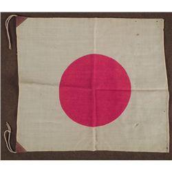 ORIGINAL WWII JAPANESE MEATBALL FLAG