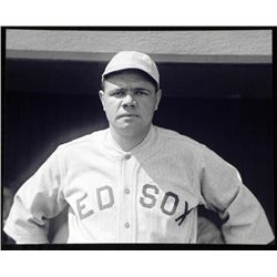 Babe Ruth Portrait Photo Baseball Sox Great Bambino