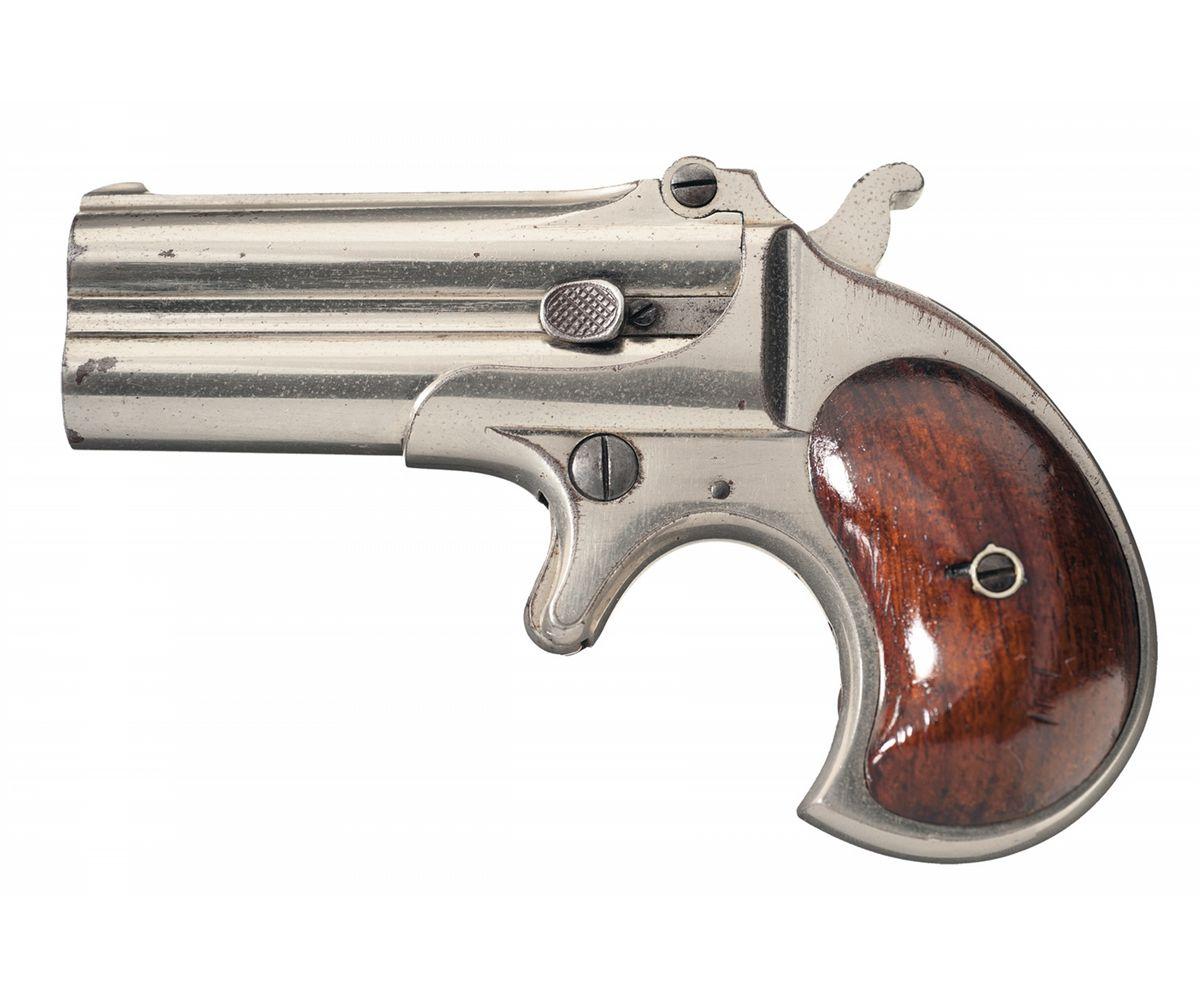 Excellent Early Production Remington Double Barrel Derringer