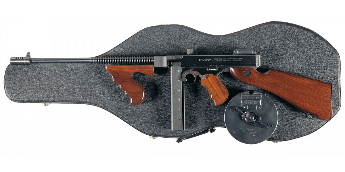 Auto Ordnance Model 1927A1 Thompson Carbine with
