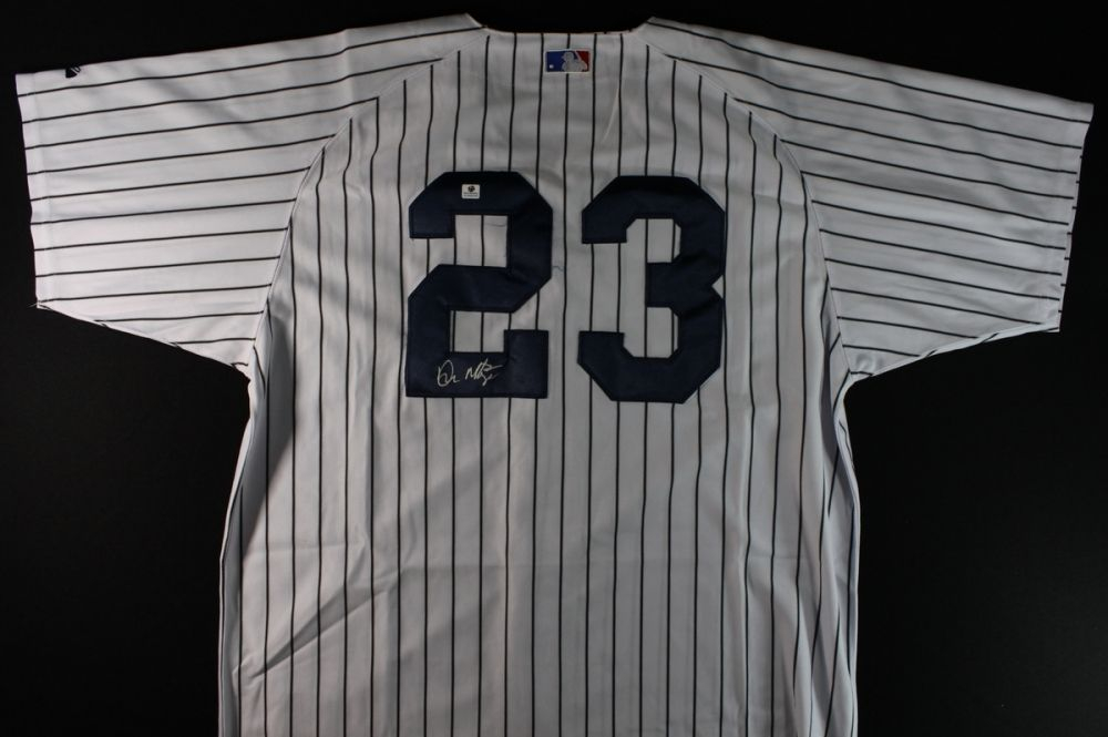 finest selection 2f3b6 61e32 Don Mattingly Signed Yankees Jersey (GA COA)