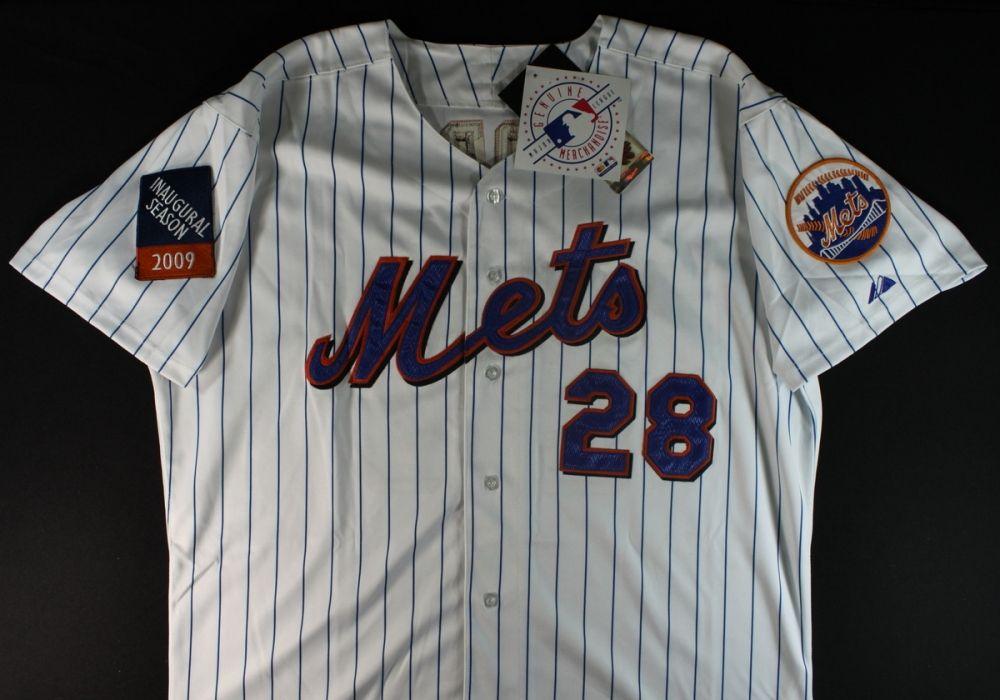 new product 3e430 3c811 Daniel Murphy Signed Mets Jersey (JSA COA)