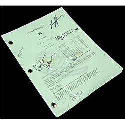 24 (television) - Autographed Production Script