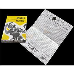 A League of Their Own - Rockford Peaches Score Cards