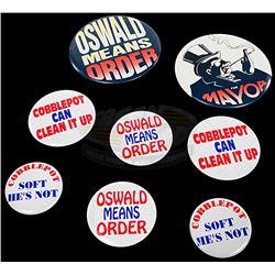 Batman Returns - Cobblepot for Mayor Campaign Buttons