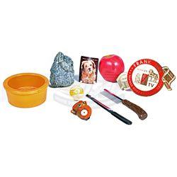 Benji - Benji's Water Bowl, Health Certificate & Toys