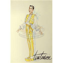 Big Top Pee-wee - Pee-Wee Herman Costume Design Sketch