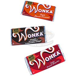 Charlie and the Chocolate Factory - Wonka Candy Bars
