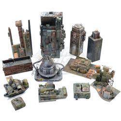 Coneheads - Planet Remulak Miniature Buildings
