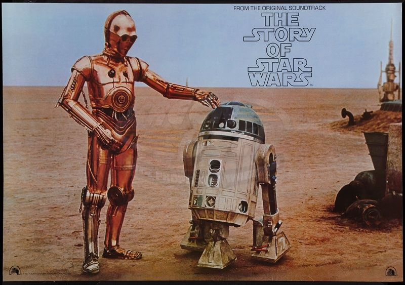 Star Wars Episode Iv A New Hope The Story Of Star Wars Record Promotional Poster