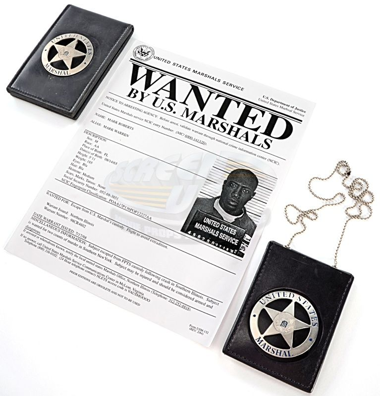 Badges Samuel - Deputy Id U Gerard's Marshals Marshal amp; s Chief