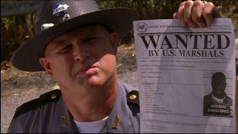 U S  Marshals - Chief Deputy Marshal Samuel Gerard's Badges & ID