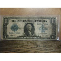 1923 US LARGE SIZE $1 SILVER CERTIFICATE