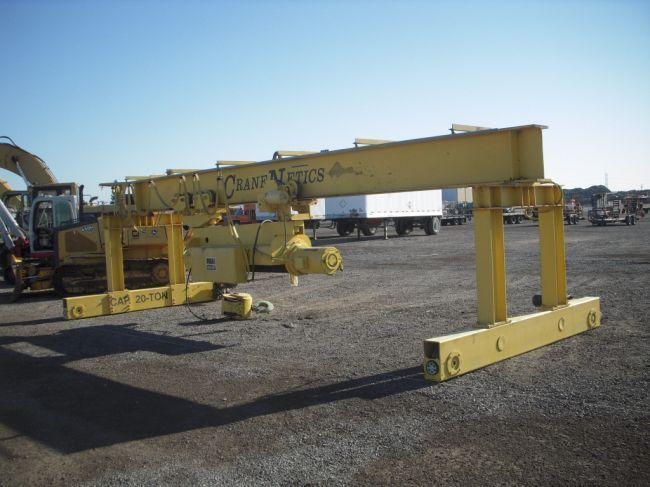 P&H Hevi Lift 20 Ton Gantry Crane