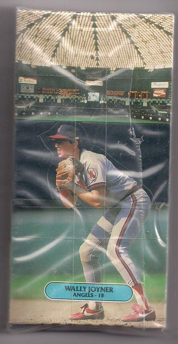 1986 Donruss All Stars Pop Up Complete Baseball Card Set