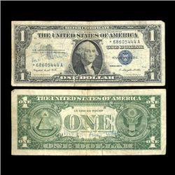 1957A $1 Silver Certificate Star Note Circ Scarce (COI-4700)