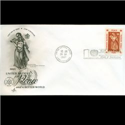 1966 UN First Day Postal Cover (STM-2605)
