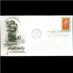 1967 UN First Day Postal Cover (STM-2608)