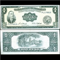 1949 Philippines 1P Note Hi Grade (CUR-07199)