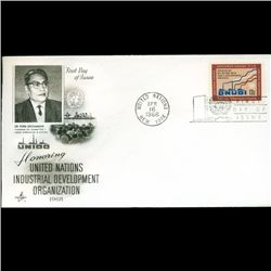 1968 UN First Day Postal Cover (STM-2743)