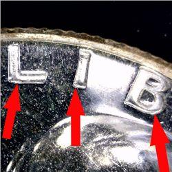 1952 Franklin Proof Half PR64 Double Die & Underweight ERRORS (COI-10953)