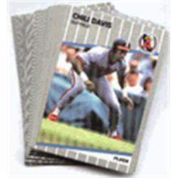 Fleer Angel Baseball Cards 1989