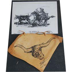 Larry Butte art pieces (2)