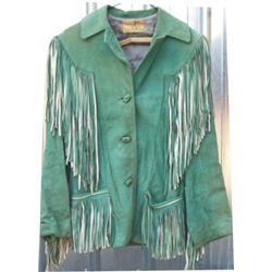 Porter 40's fringed coat