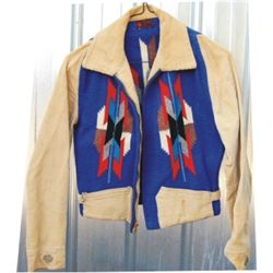 1950's Chimayo & leather jacket