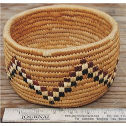 six inch indian basket