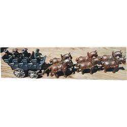 Cast iron horse drawn hitch