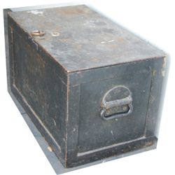 Large 1800's strong box