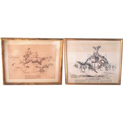 2 Ernie Morris prints