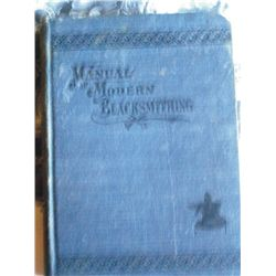1902 Manual of Modern Blacksmithing