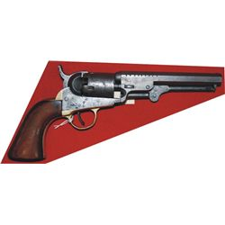 Colt 1849 pocket .31 with notches on barrel, made 1857